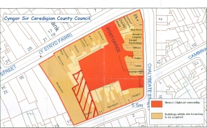 Post Office Site Plans (Click for enlargement)